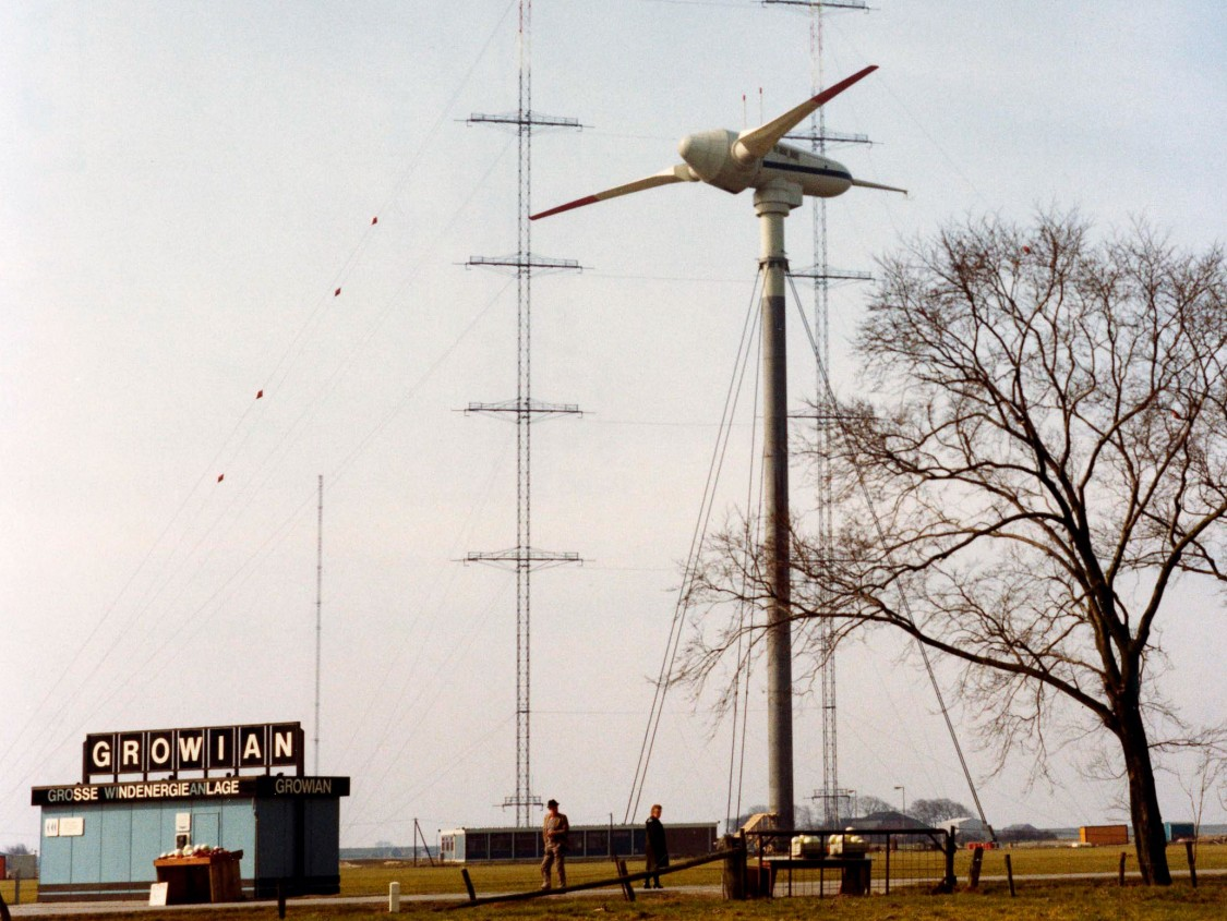 GROWIAN wind turbine, 1983