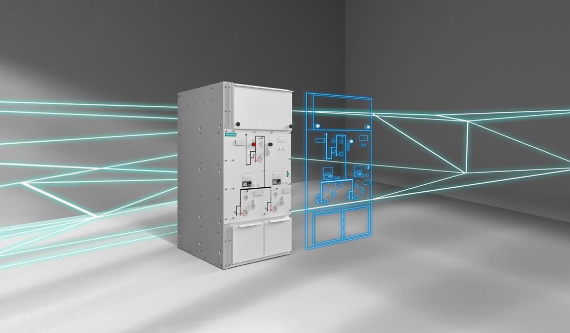 Розподільна установка з газовою ізоляцією 8DJH Compact