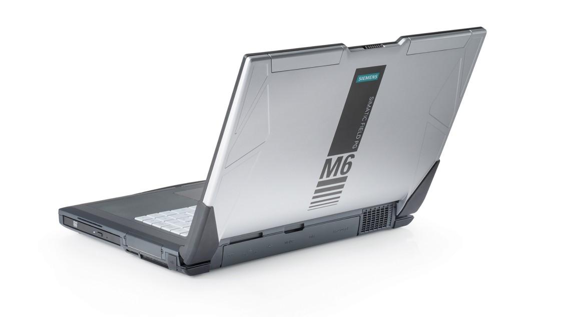 Laptop przemysłowy SIMATIC Field PG - wygląd boku