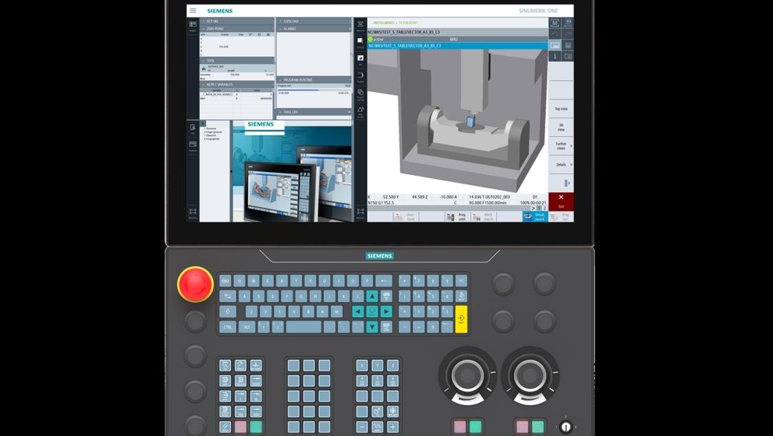 SINUMERIK ONE Machine Control Panel