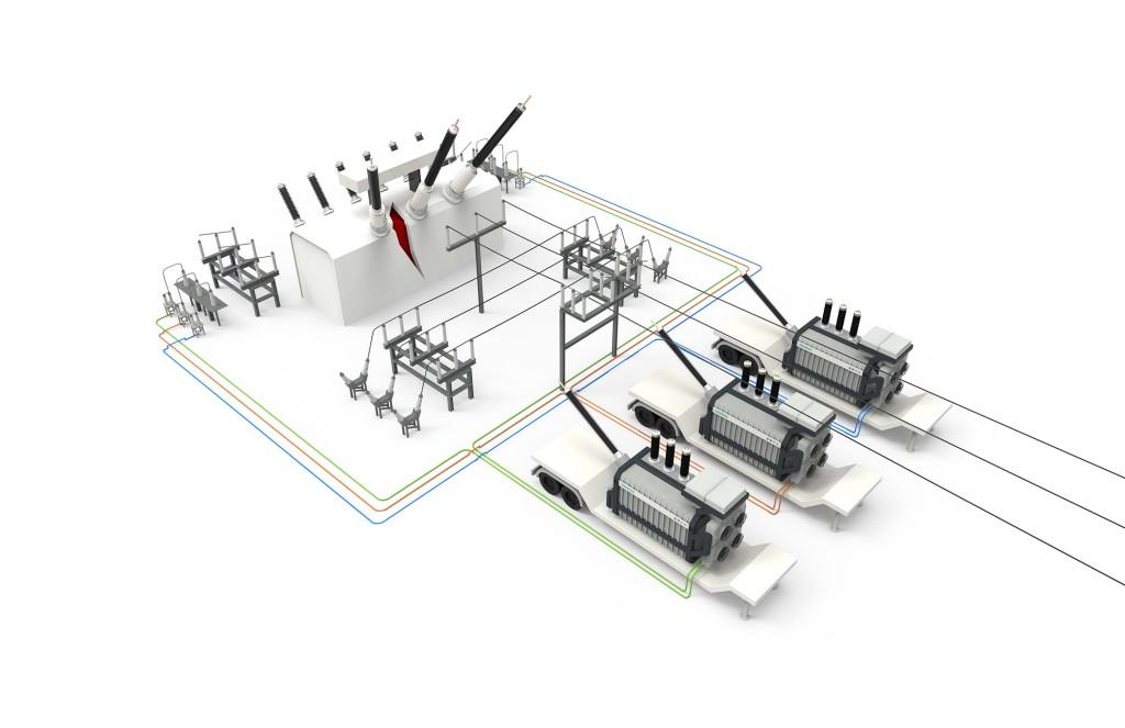 Plug-and-Play-Transformatoren von Siemens