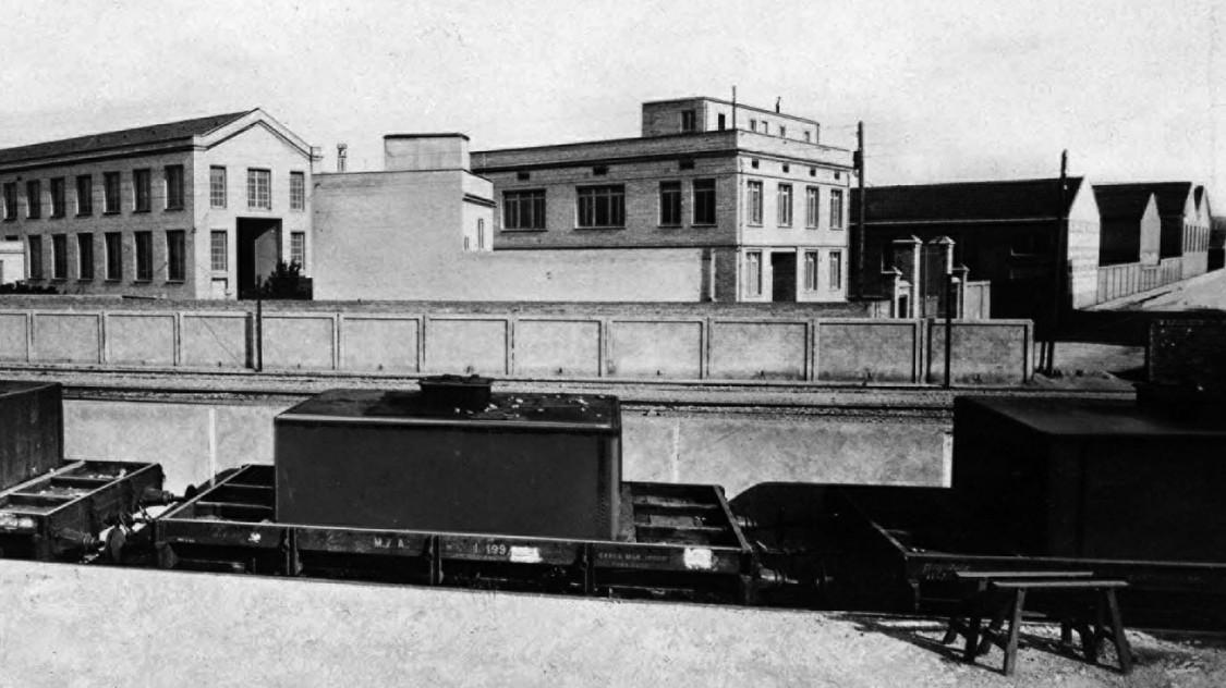 Im Laufe der Jahrzehnte kontinuierlich erweitert – Fábrica de Cornellá, 1914
