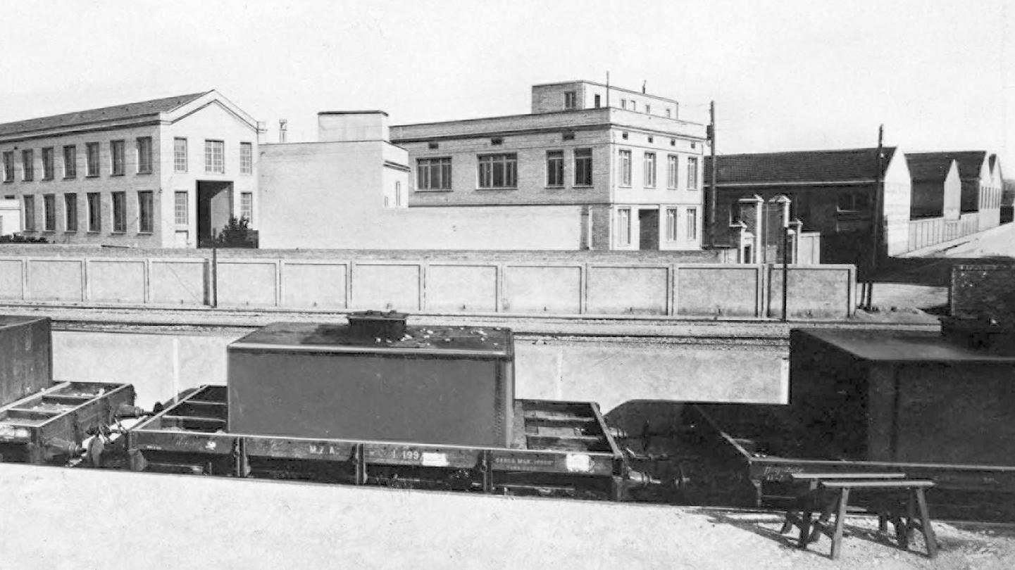 En constante expansión a lo largo de las décadas - la Fábrica de Cornellà, 1914