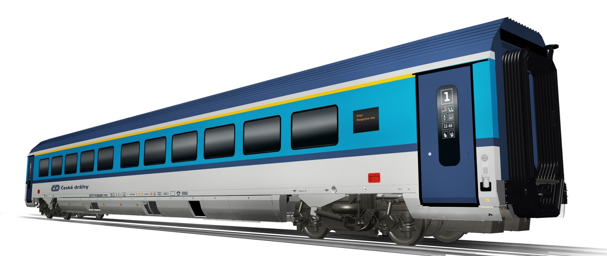 Czech Railways orders passenger cars