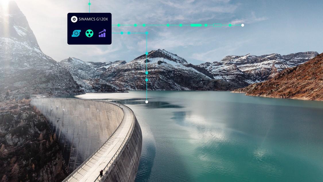 SINAMICS G120X frekvenciaváltók - új 'footprint' szűrők, fokozott EMC elvárásokra