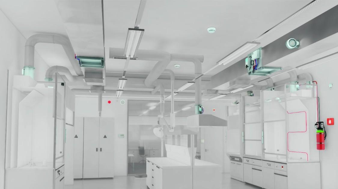 Building management in laboratories