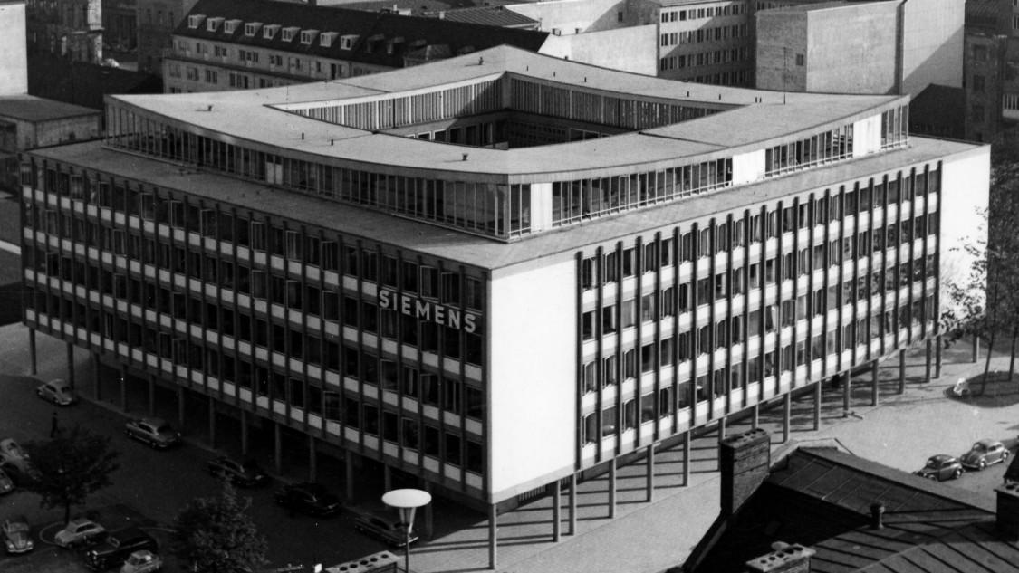 Elegantes Design – Erweiterung der Konzernzentrale, München 1958