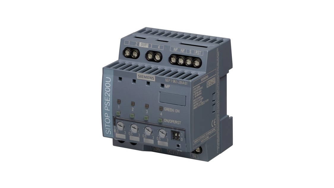 Product image of an exemplary SITOP selectivity module
