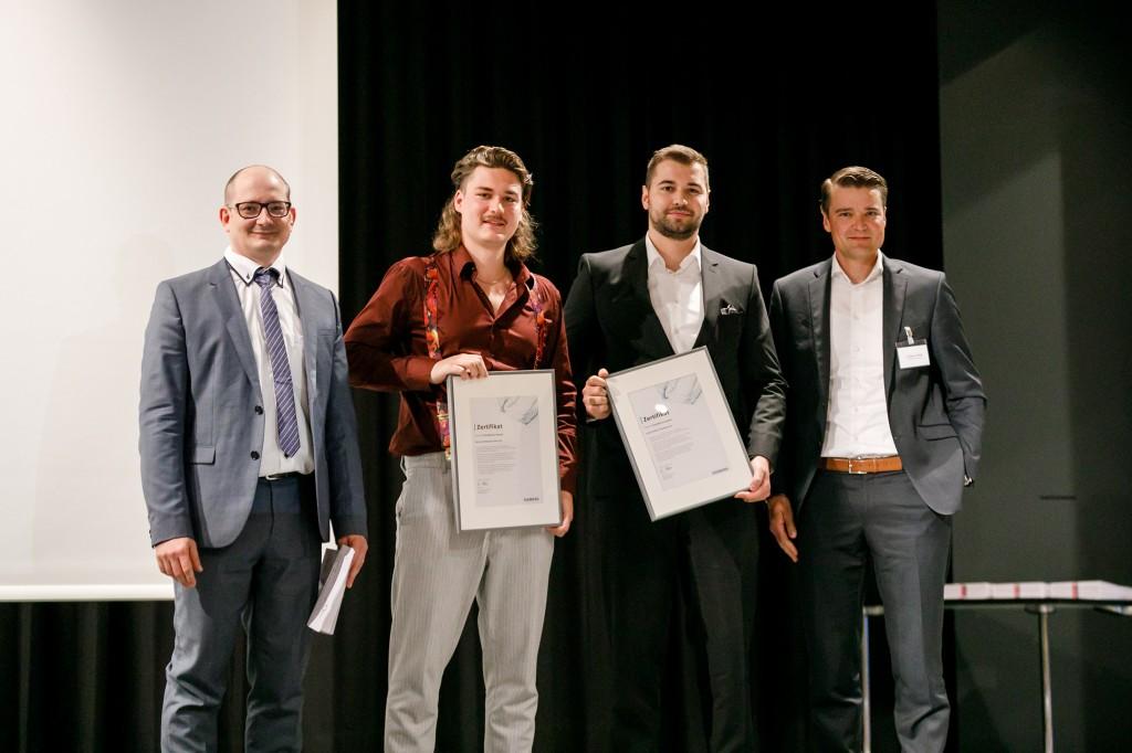 Jungforscher der Ostschweizer Fachhochschule gewinnen regionalen Siemens Excellence Award