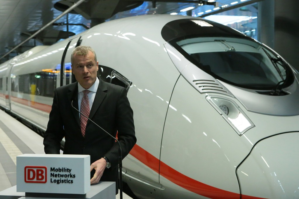Eight Velaro D trains delivered to Deutsche Bahn