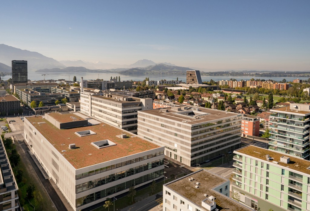 Inauguration of the new Siemens Campus in Zug