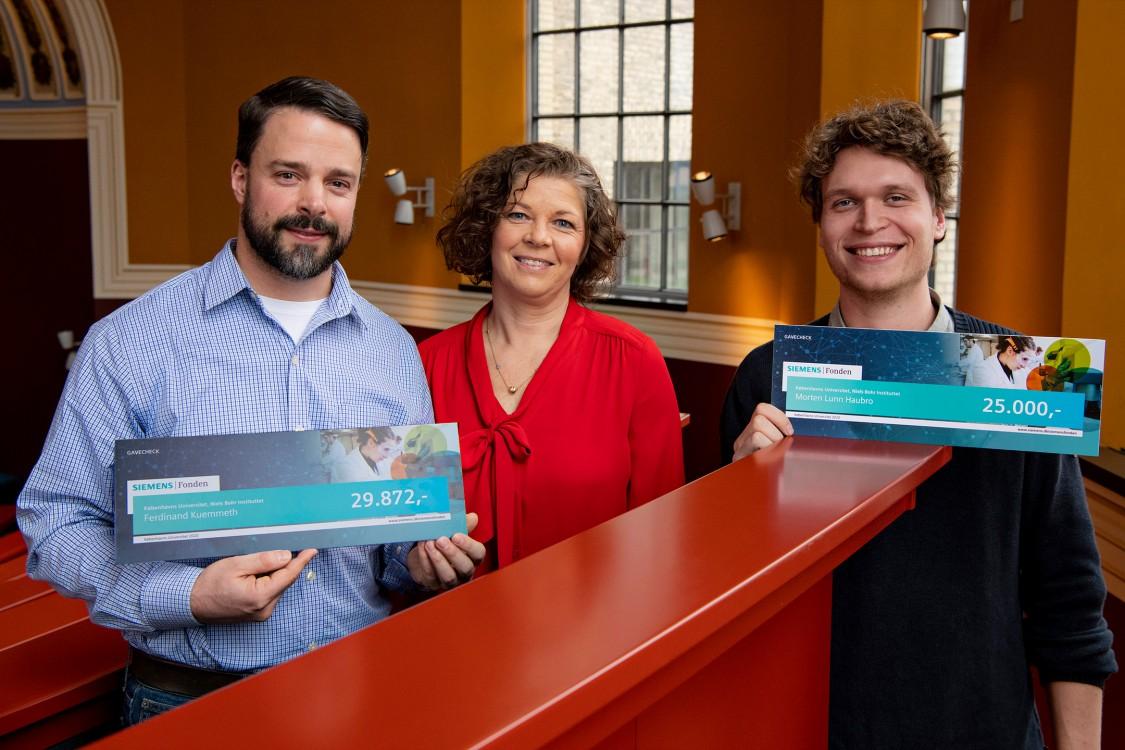 Siemensfonden uddeler 308.000 kroner til støtte for naturvidenskabelige studier