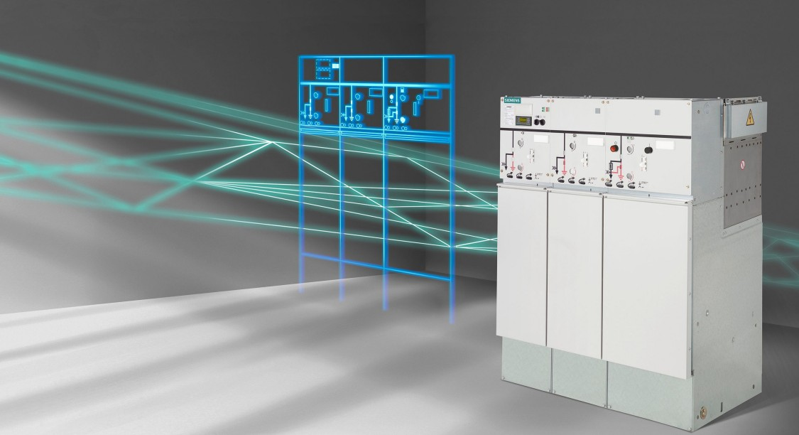 Gas-insulated switchgear for secondary distribution systems
