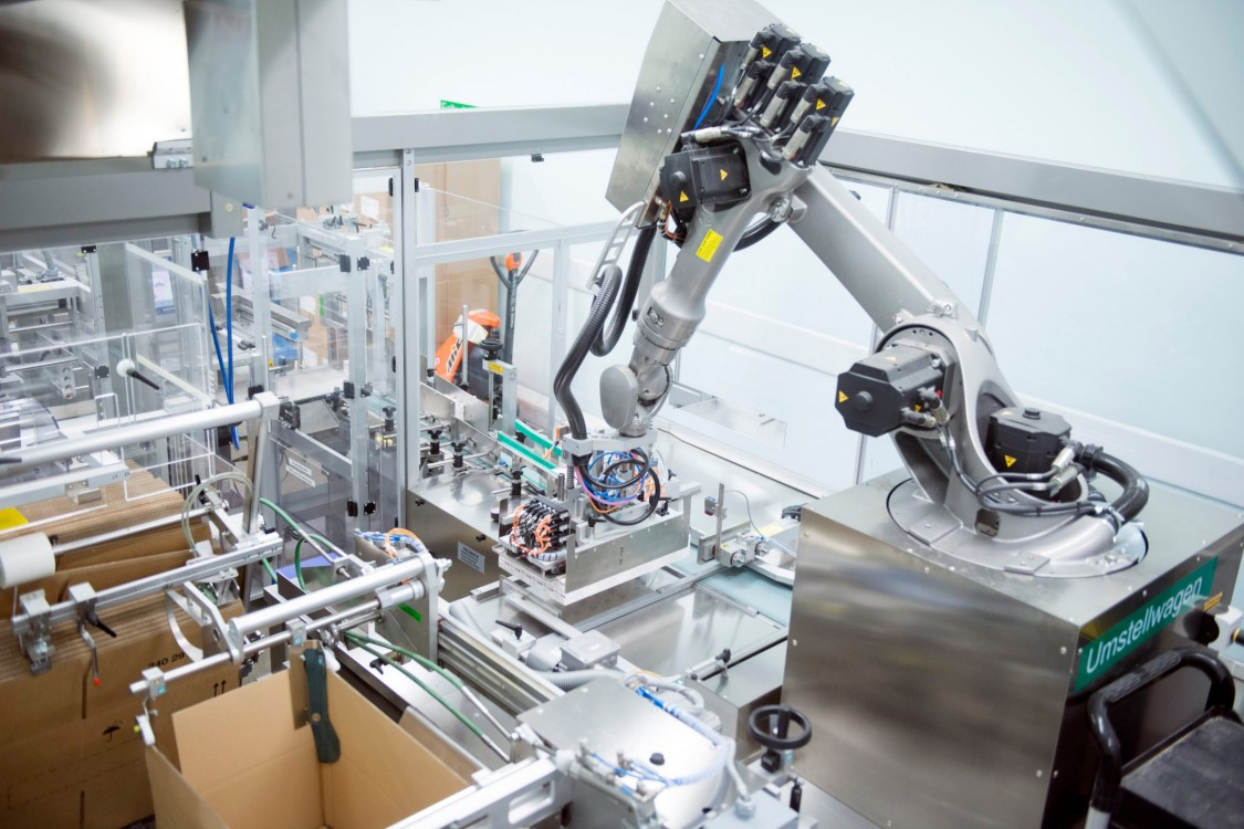 Continuous Drug Production Industry Siemens Global