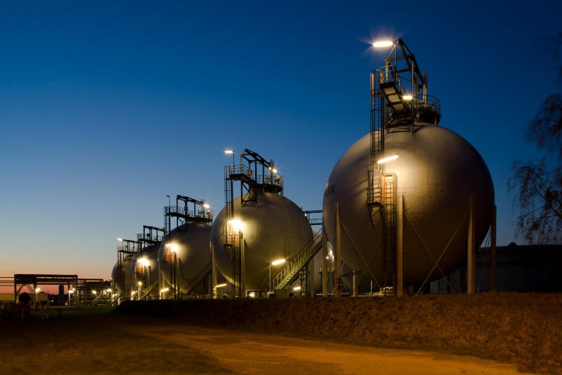 Tankfarm in Lingen, Emsland