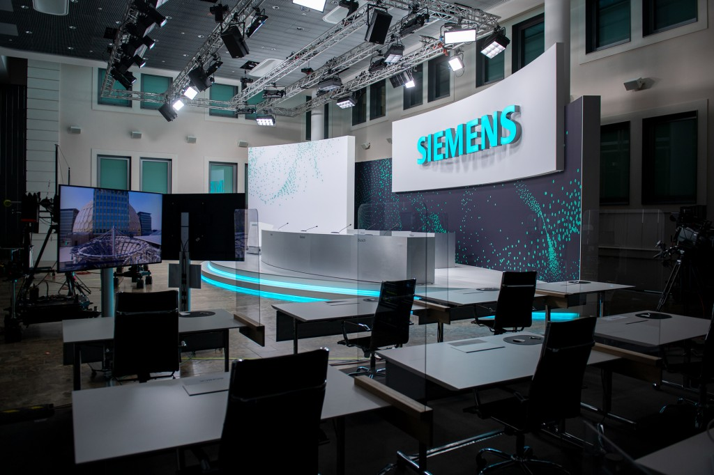The 55th Annual Shareholders' Meeting of Siemens AG will be held in a virtual format and broadcast live from Siemens headquarters in Munich on February 3, 2021.