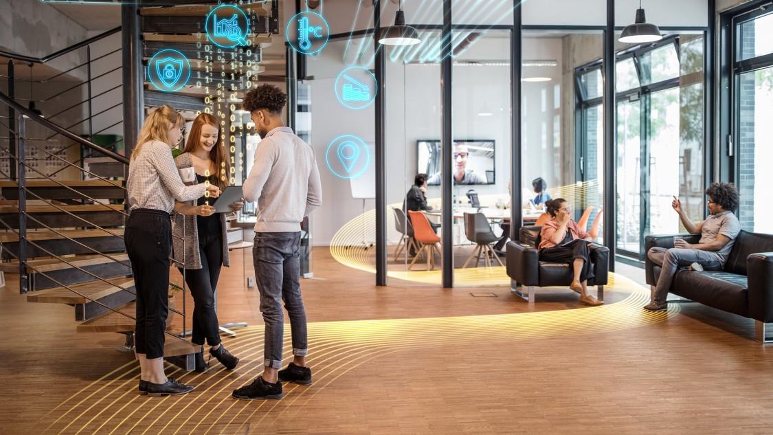 Zrównoważone przestrzenie pracy