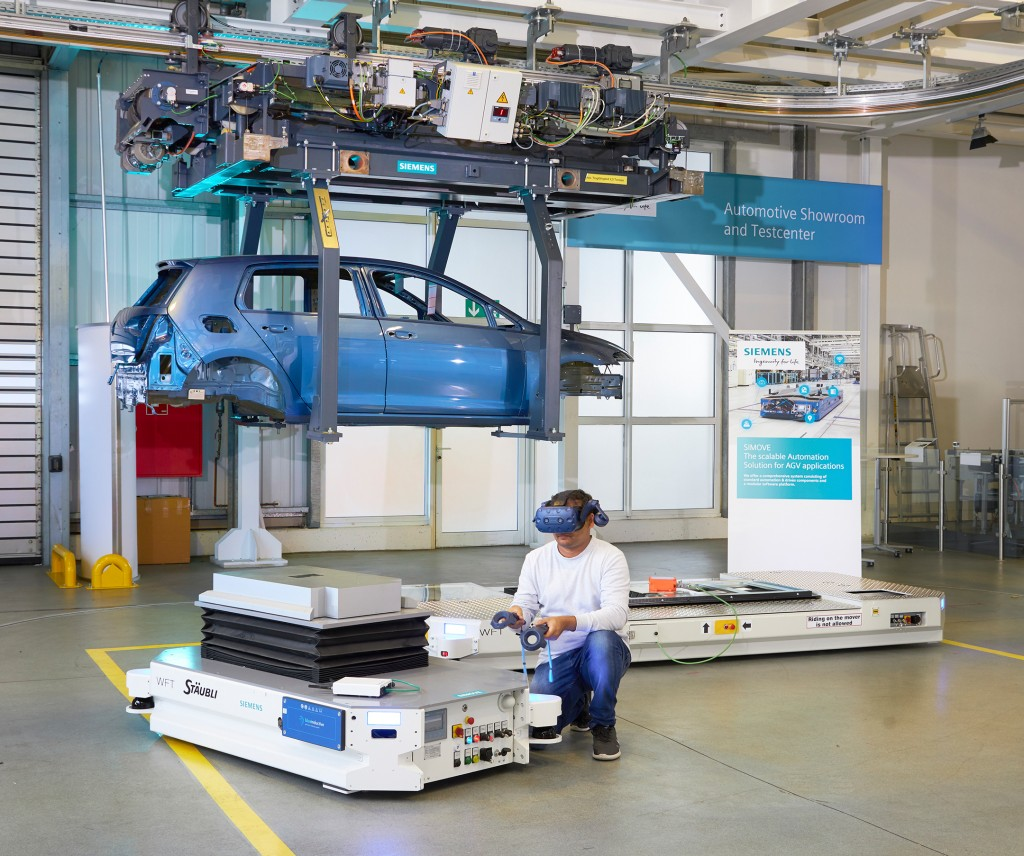 Siemens Automotive Showroom and Testcenter
