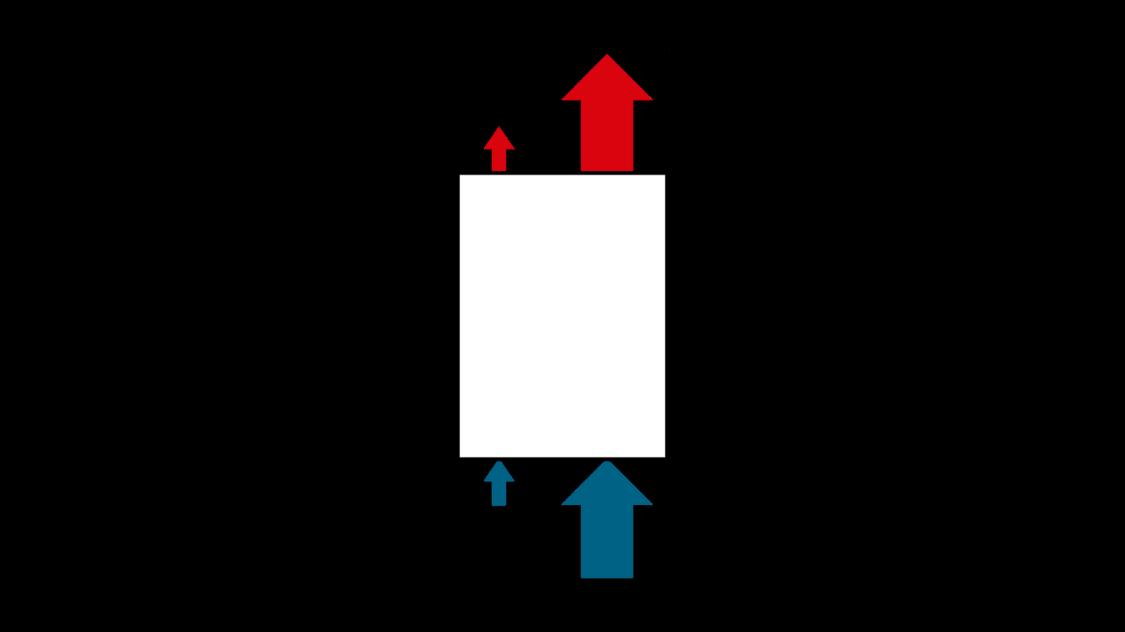 Illustration interne Luftkühlung