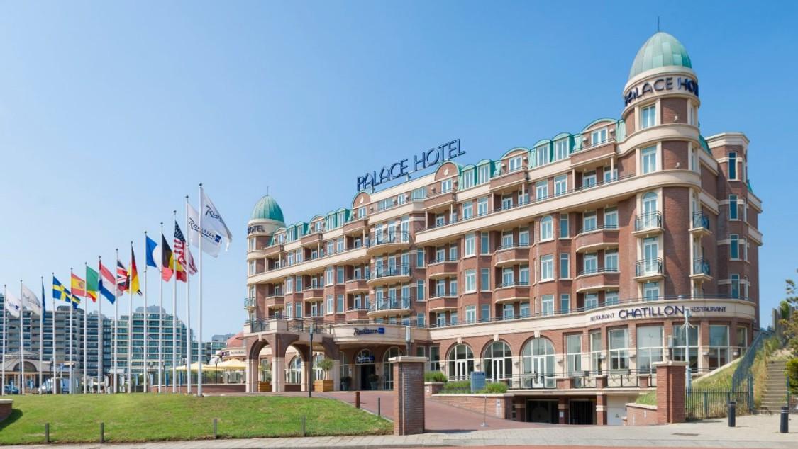 Referenzobjekt Radisson Blu Palace Hotel, Noordwijk aan Zee