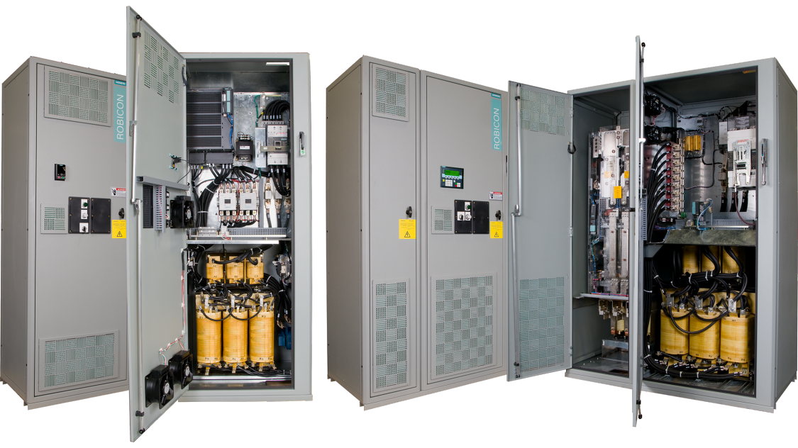 robicon w120cp & w150cp  enclosed drives for water / wastewater
