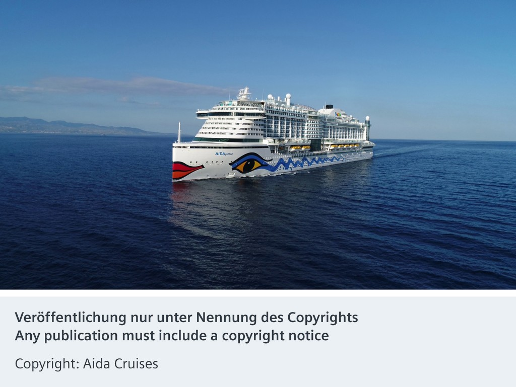 New Aida cruise ship launched with Siemens automation technology on board