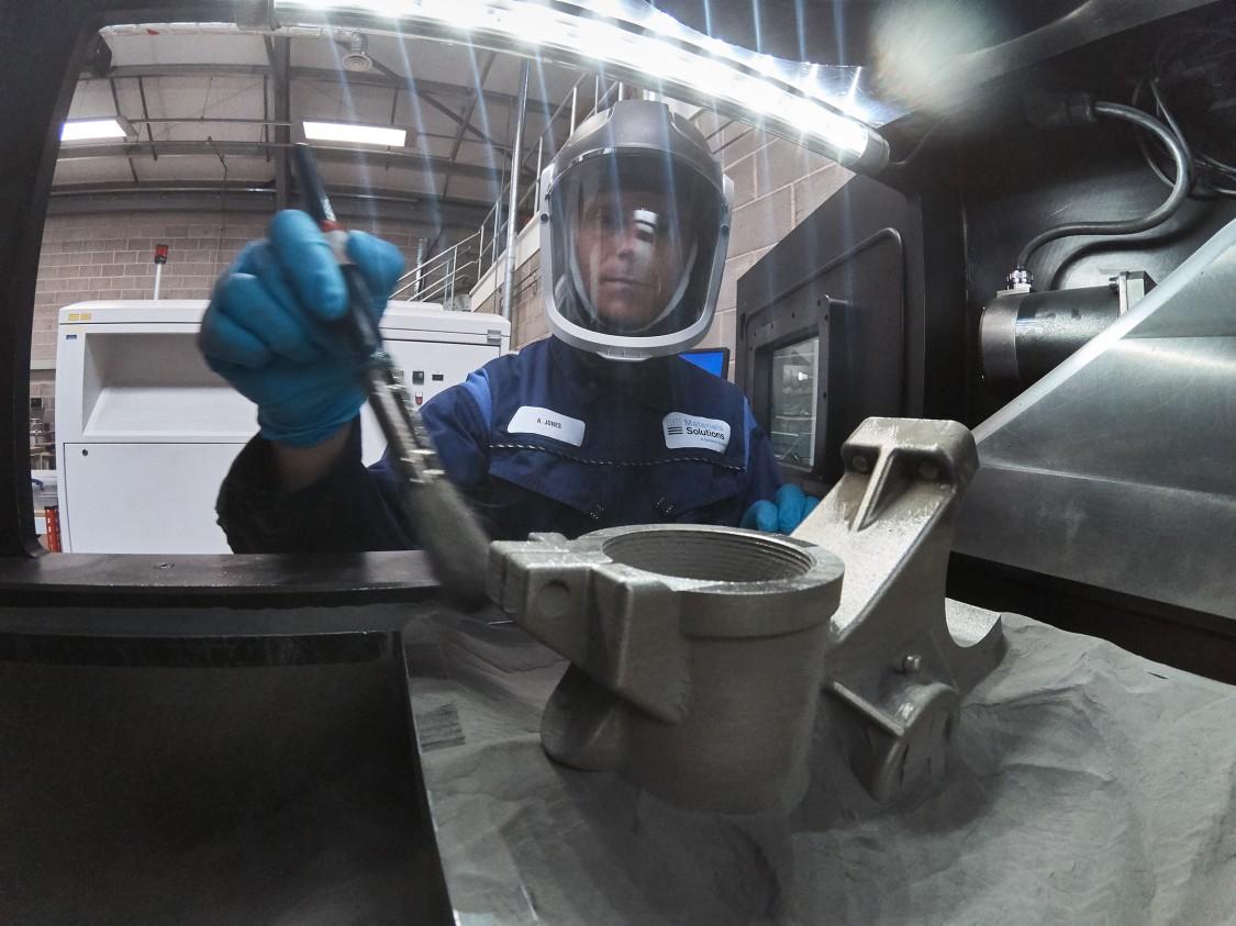 Så langt har de kommet med 3D-printing av metall