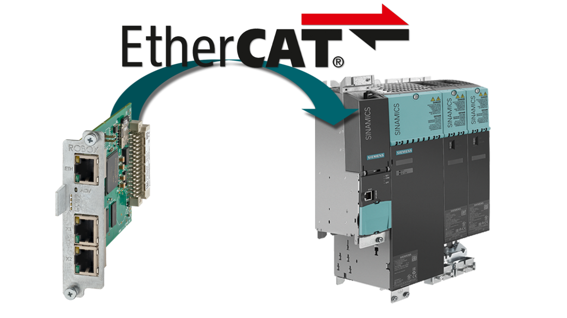 Ethercat interface for test stands