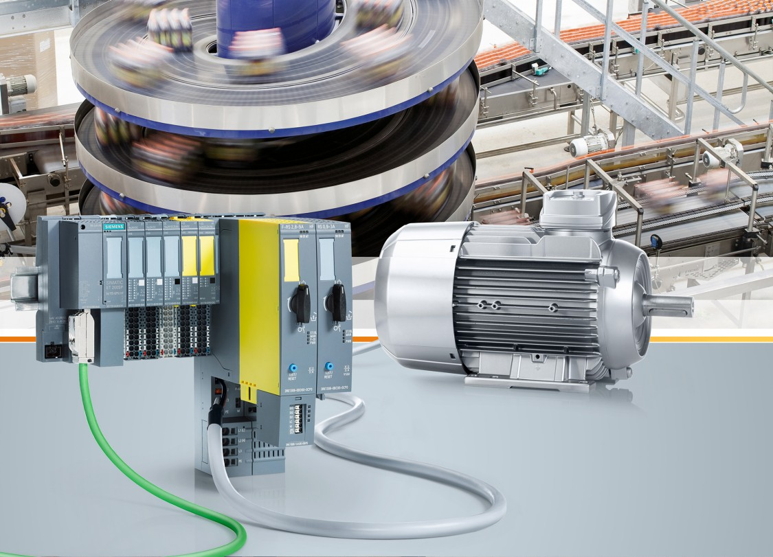 Інтелектуальний гібридний пускач для двигунів SIMATIC ET 200SP