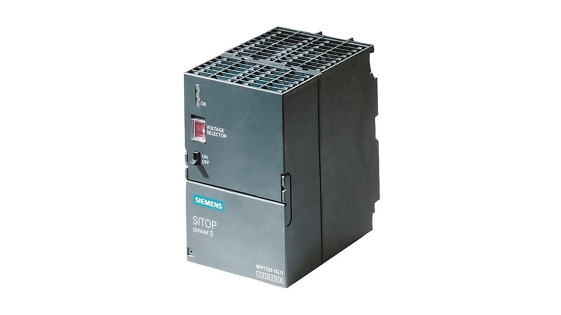 Fotografie produktu SITOP v designu SIMATIC S7-300, venkovní, PS 305, 24 V/2 A