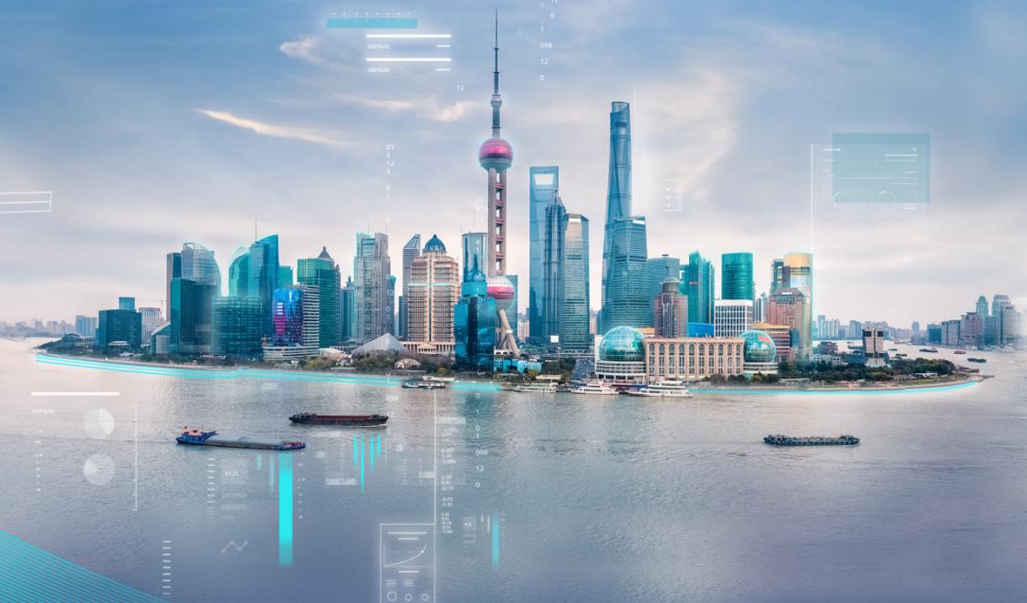 Skyline smart city