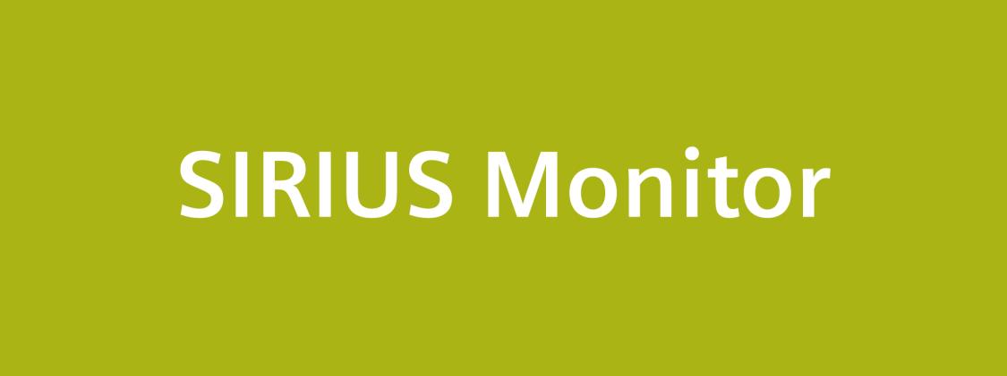 SIRIUS Monitor logo