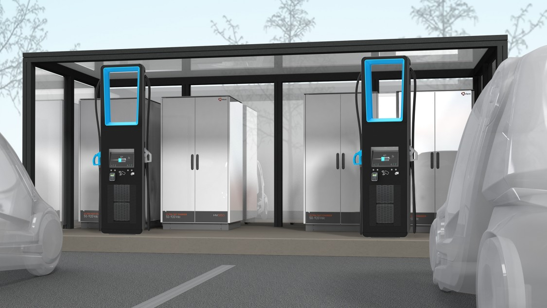 Yunex Traffic HV Ultra Rapid Electric Vehicle Chargers