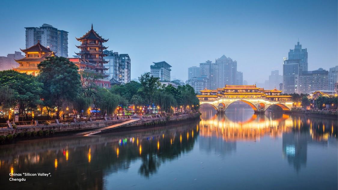 "Chinas ""Silicon Walley"", Chengdu"