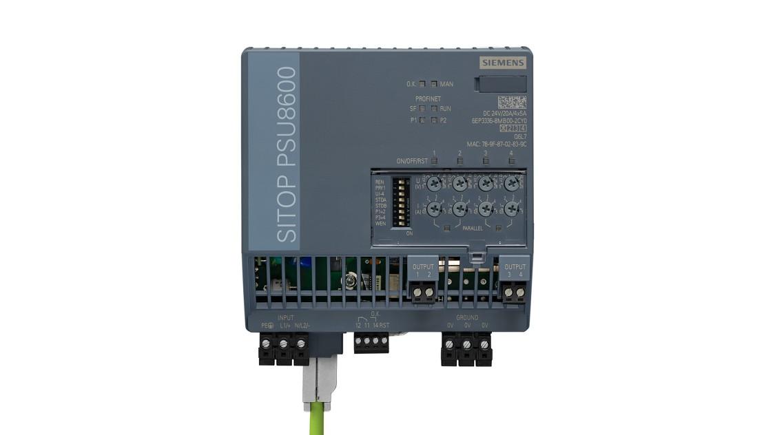 PSU8600, 24 V/4x5 A