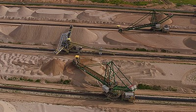Taking stock – A key player in the phosphate industry and its derivatives relies on Siemens system solution for stockyard management