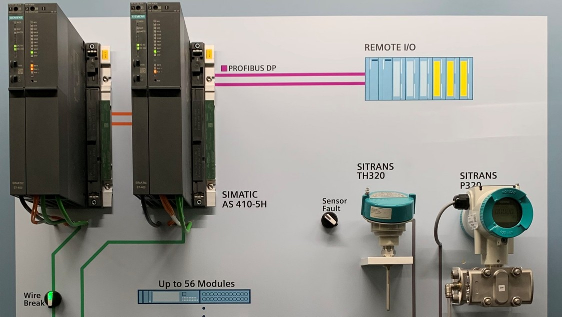 USA   SIMATIC PCS 7 Demo wall