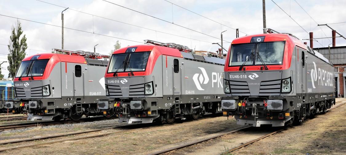 Lokomotywy Vectron dla PKP Cargo