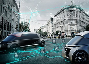 Connected and autonomous driving by road and rail will shape future mobility