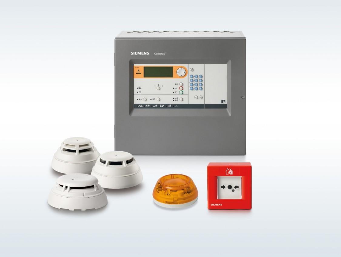 Sistem de protecție la incendiu Cerberus FIT adresabil