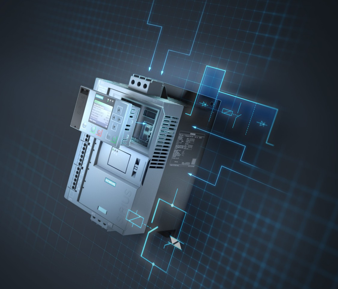 SIRIUS soft starters – the best of two technological worlds