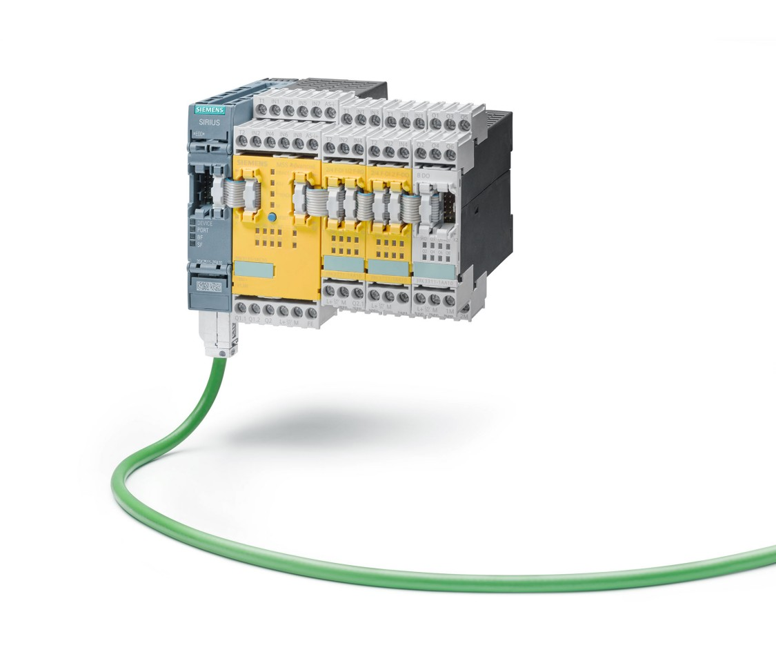 Sistema de seguridad modular SIRIUS 3RK3