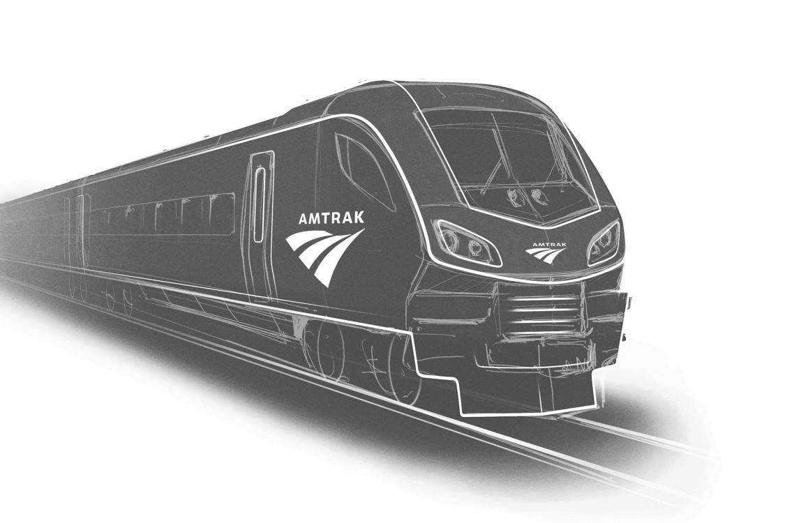 Rendering of Amtrak Vehicle