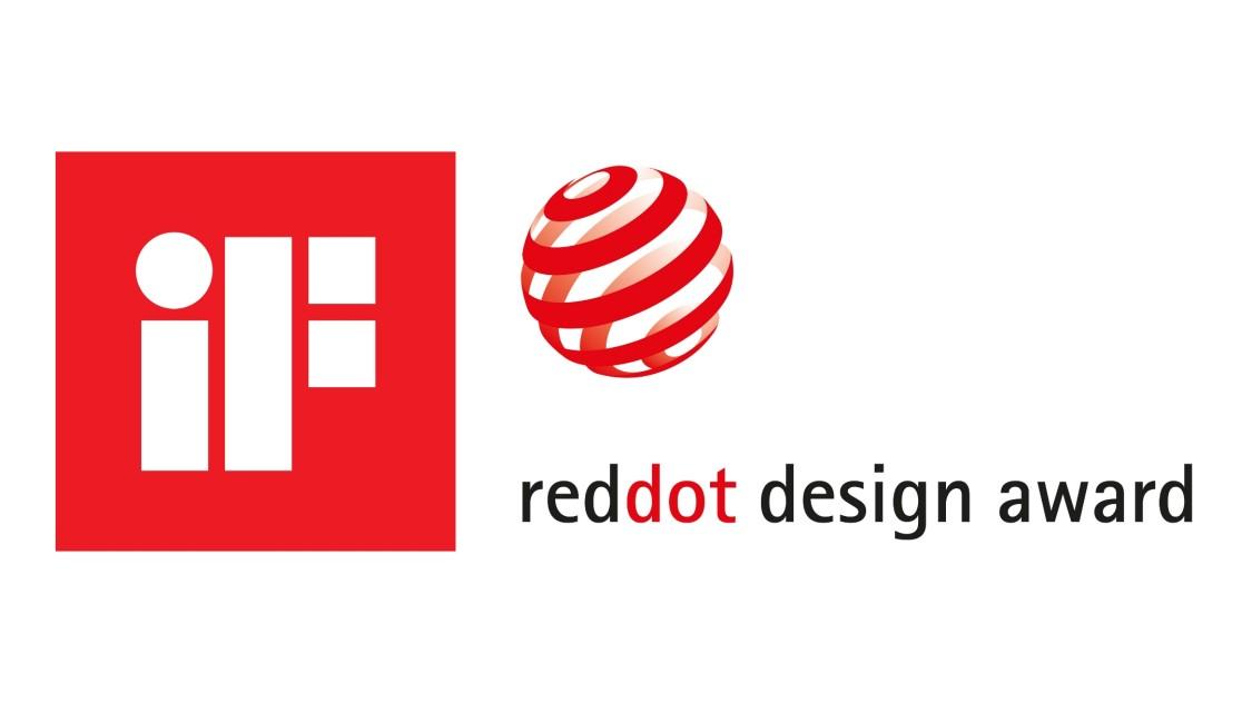 iF reddot Design Award Logotyp