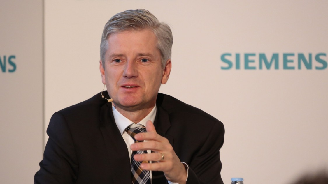 Ralf Christian - Chief Executive Officer of the Energy Management Division at Siemens AG