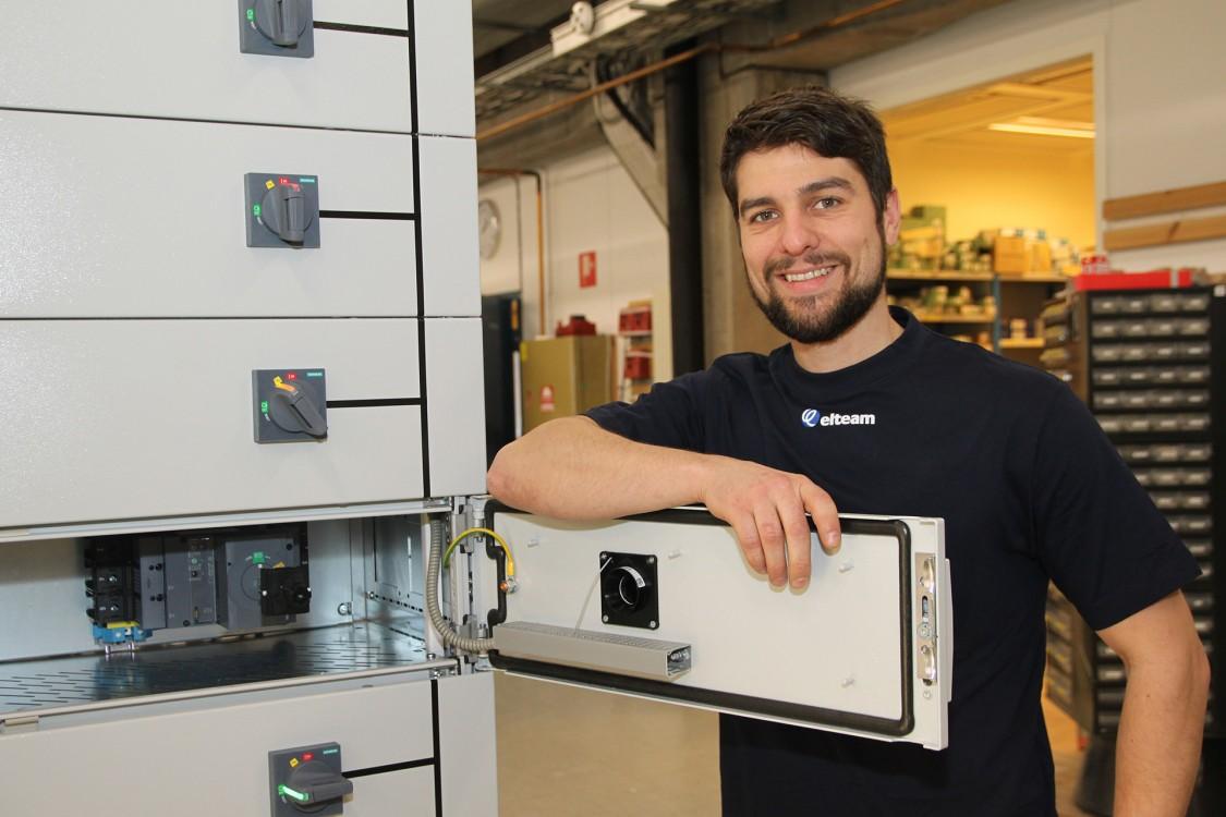 Siemens digitala verktyg effektiviserar för Sundsvalls Elteam