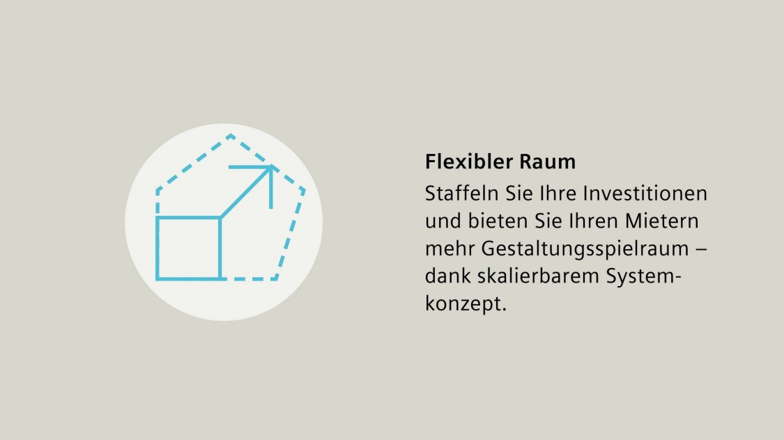 Desigo Room Automation, Raumapplikationen, flexibler Raum, skalierbar, Raumgestaltung