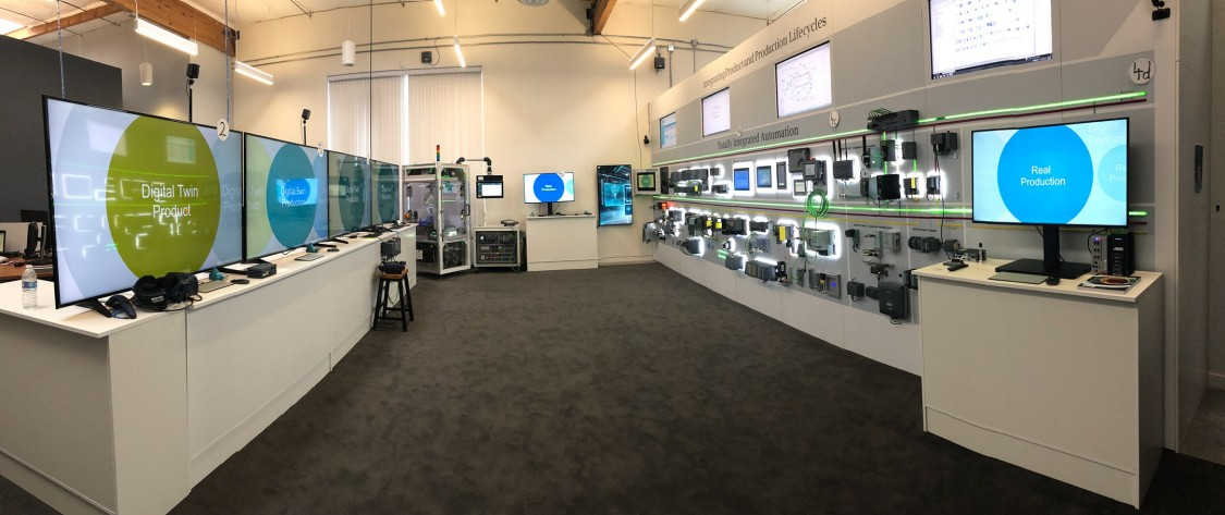 At the Siemens DEX Customer Collaboration Center in Campbell, Silicon Valley, you'll learn about the benefits of the Digital Enterprise first-hand