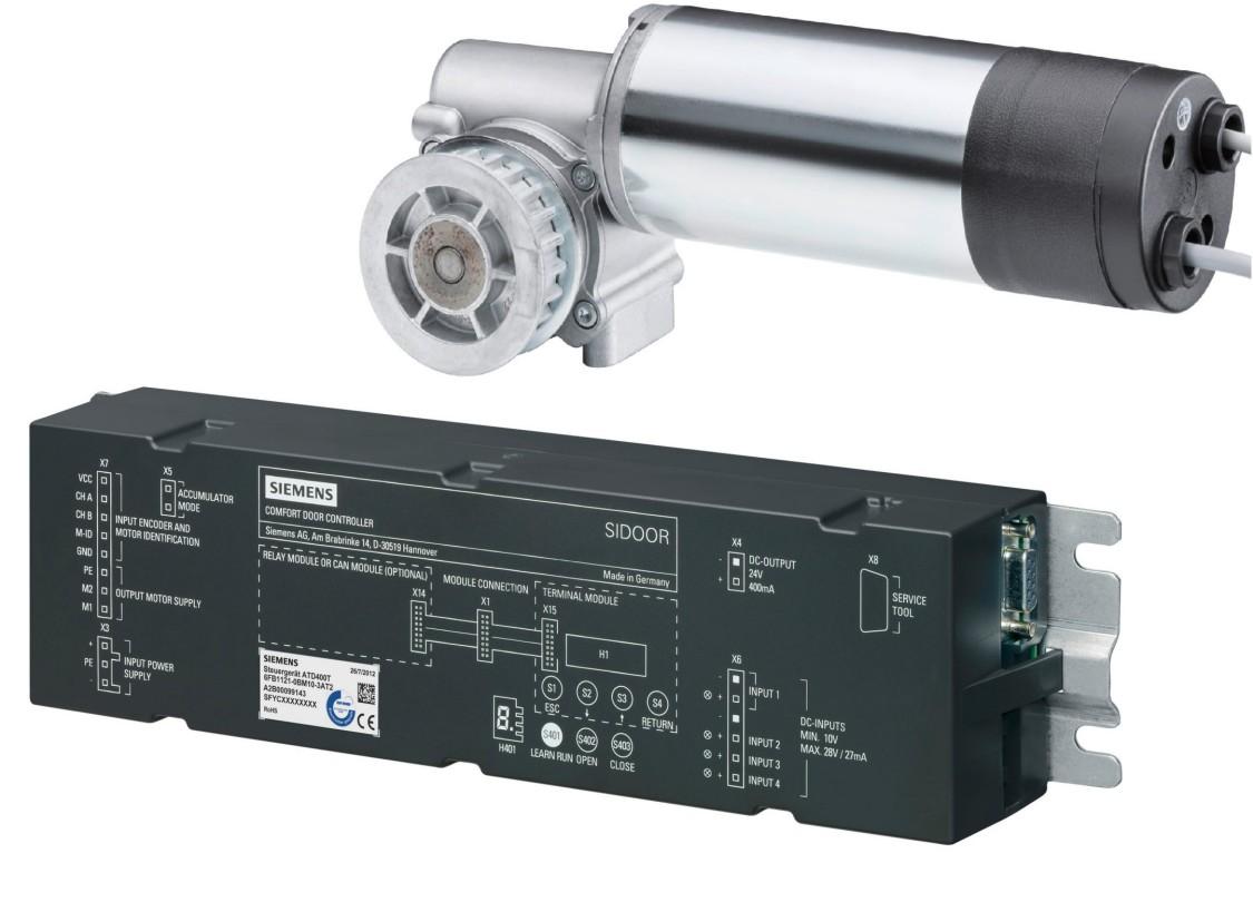 SIDOOR ATD400T und SIDOOR MDG180 R DIN EN 45545-2