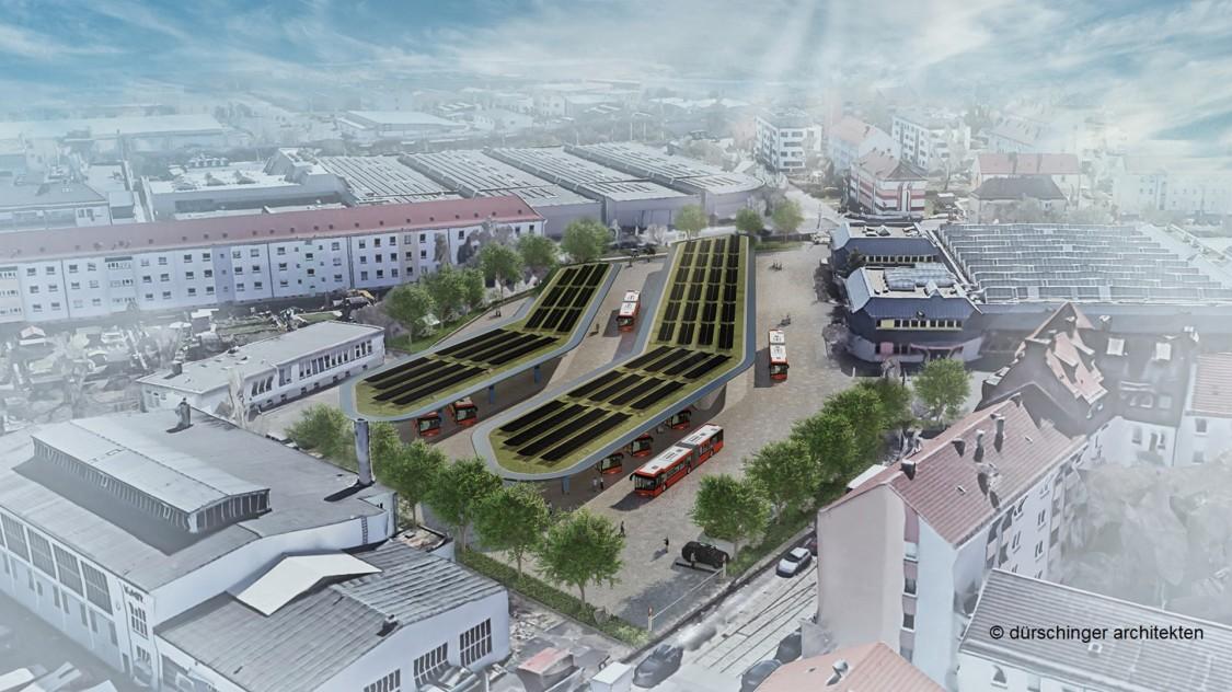 Siemens trägt mit eBus- Ladeinfrastruktur zu nachhaltigem Stadtverkehr in Nürnberg bei